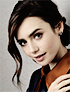 Lily Collins Network